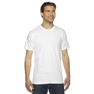 NWT American Apparel USA Made T-Shirt Medium White